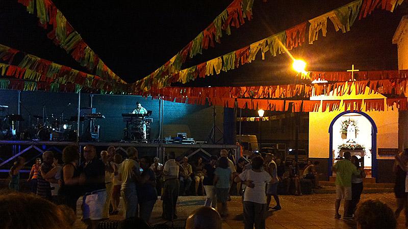 Fiesta in Playa de La Calera