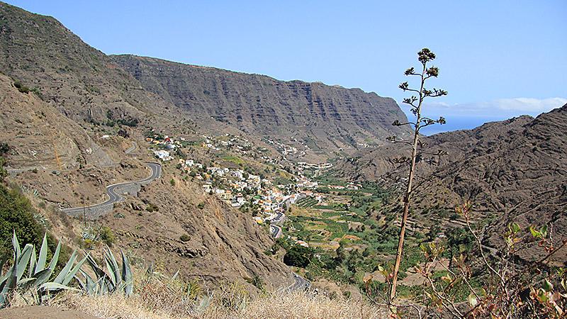 Das grüne Tal von Hermigua (Archivfoto von 2012)