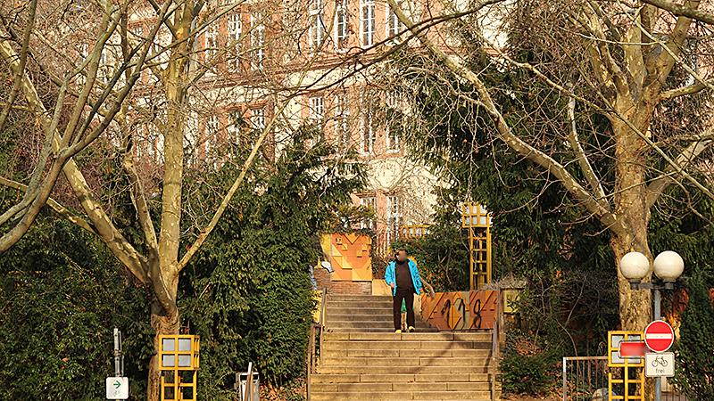 Ein sonniger Nachmittag in Mainz