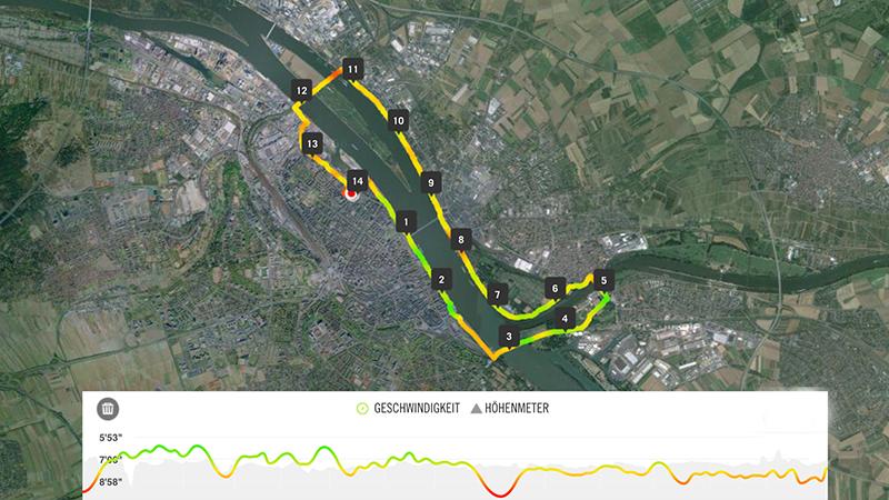 Große Drei-Brücken-Tour