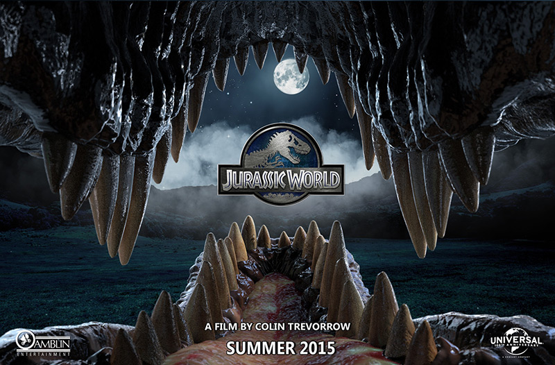 Teaserplakat (US) für den Kinofilm Jurassic World