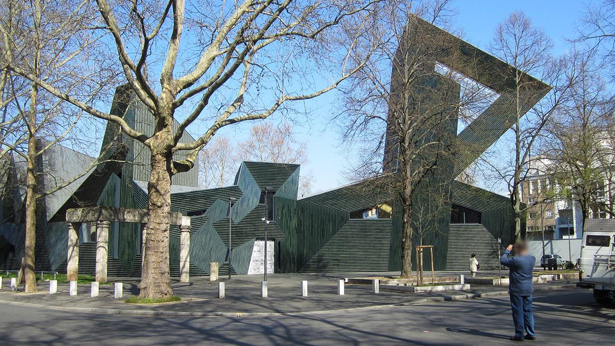 Die jüdische Synagoge zu Mainz