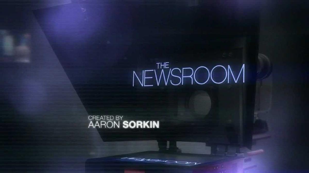 Screenshot: Title – The Newsroom, crated bei Aaron Sorkin