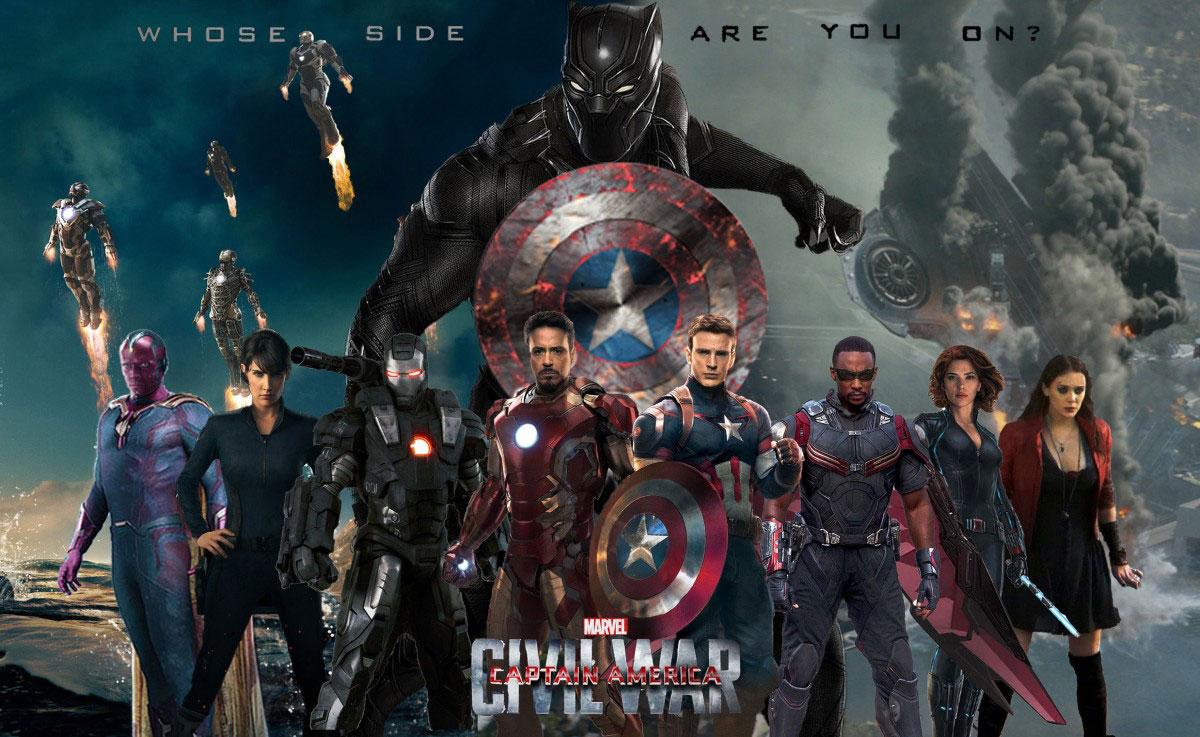 Plakatmotiv: Captain America: Civil War (2016)