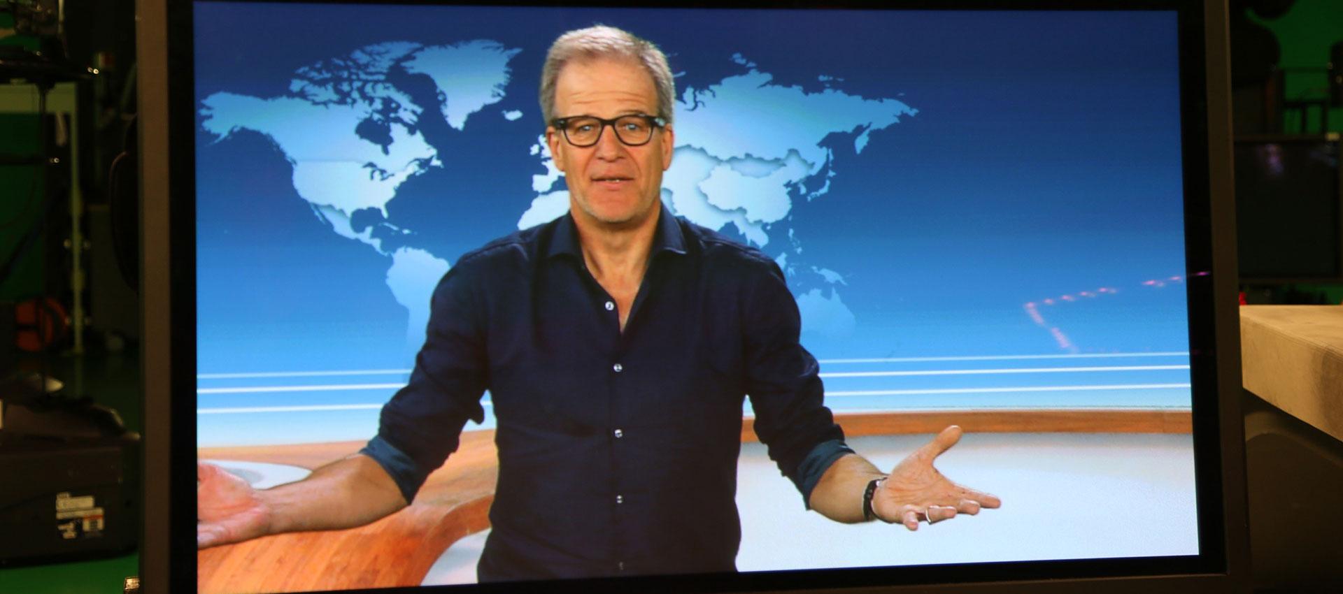 Hartung verabschiedet sich vom ZDF-Nachrichtenstudio