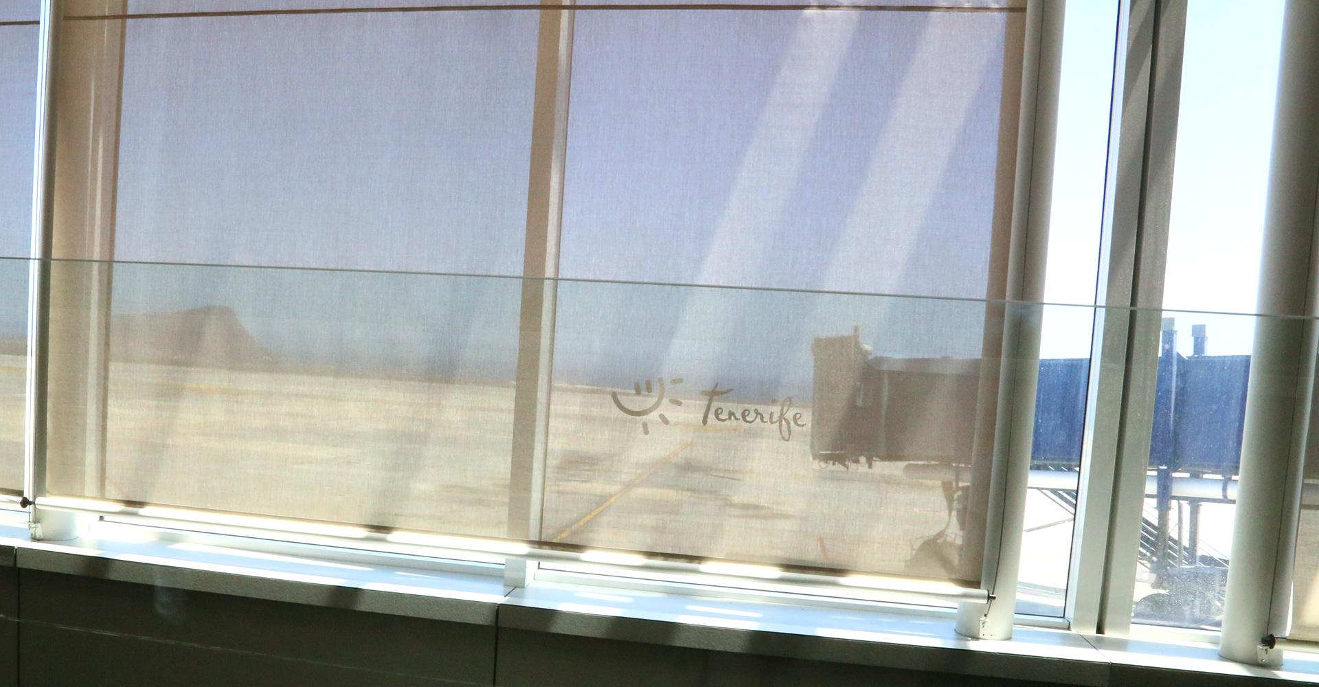 Ankunft am Flughafen Tenerife Sur