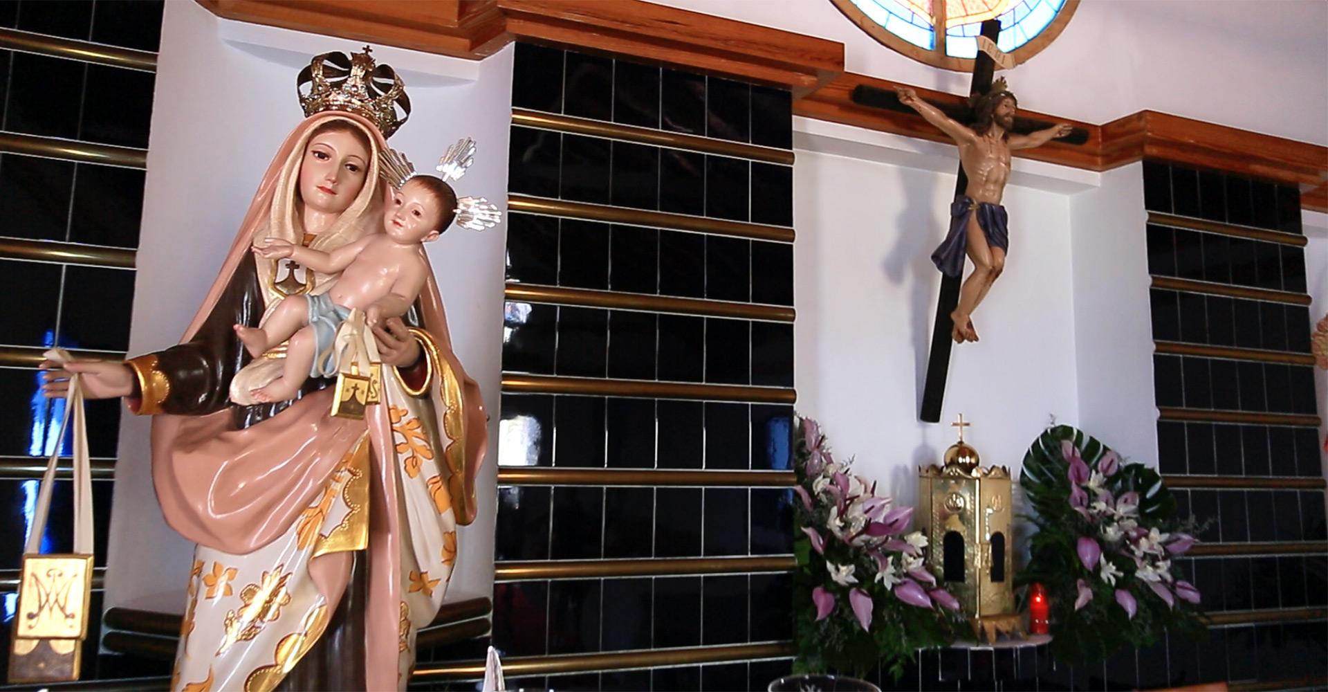 Nuestra Señora del Carmen, Schutzpatronin der Fischer