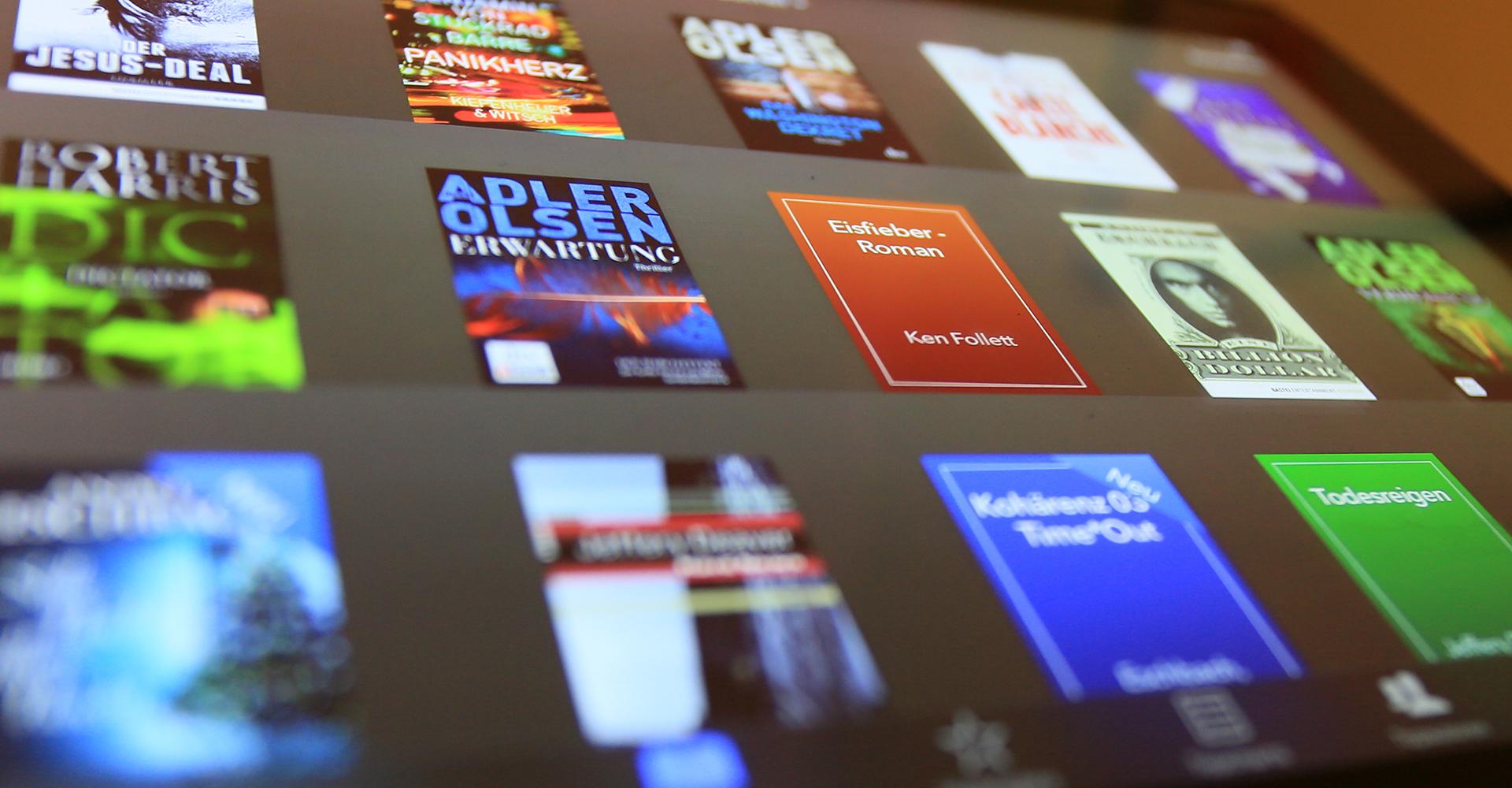 Buchauswahl bei iBooks