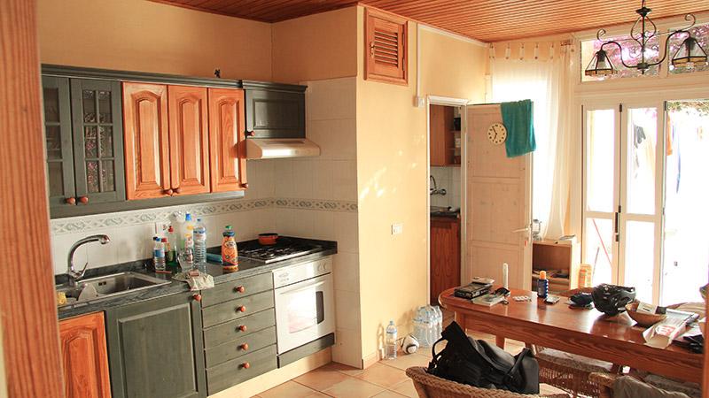 Wohnküche auf La Gomera
