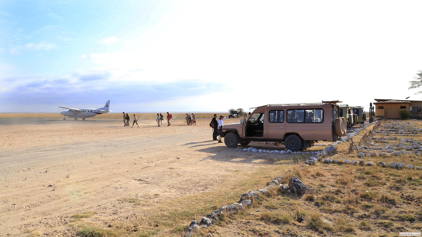Airstrip Amboseli